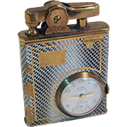 ECLYDO Watch/Lighter Combination German Made 1950's