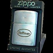 "Zippo ""HOFFMAN"" Pocket Lighter 1960"