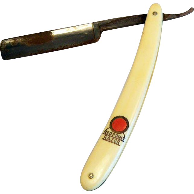 Red Point Straight Razor Anton Wingen Jr. Solingen, Germany