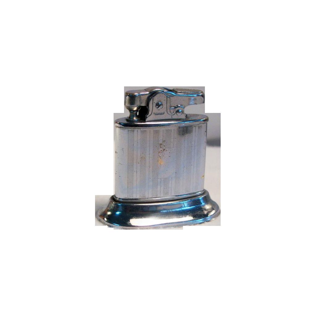 Vintage1950's Small Chrome Table Lighter JAPAN