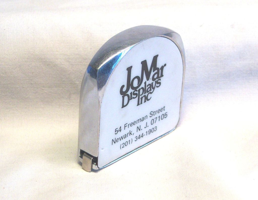 Lufkin Tape Measure Advertising JoMar Displays 6 ft 1960's