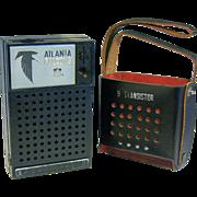 Atlanta Falcons NHL 9 Transistor Pocket Radio ca1960