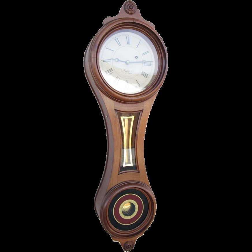 Exquisite e howard co regulator 10 wall clock figure 8 c regulator 10 wall clock figure 8 c 1880 amipublicfo Images