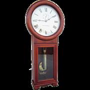 Pristine 1909 Seth Thomas Regulator No. 2 Clock in Stunning Cherry