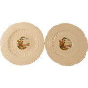 Spodes Jewel Copeland Spode Pair of Plates