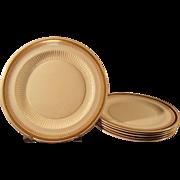 Ridgways Pattern 6390 Semi-porcelain 6 Plates