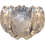 Higbee Panelled Thistle Bowl