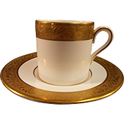 Wedgwood Ascot Demi Tasse Cup and Saucer
