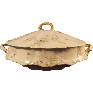 Theodore Haviland Covered Vegetable Dish