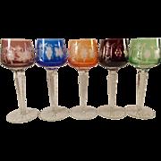 Nachtman Traube Set of 5 Wine Glasses