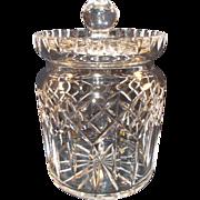Waterford Lismore Biscuit Jar