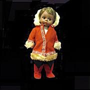 "Scarce vintage 8"" Madame Alexander bent knee Eskimo doll"