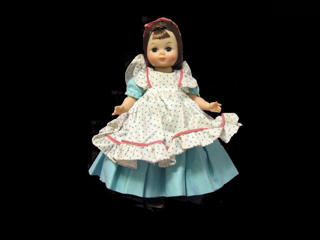 "Alexander1960 Little Lady Doll  8"" bent knee walker, Maggie face"