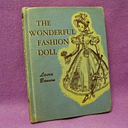Rare book, The Wonderful Fashion Doll