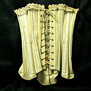 Unused Late Victorian Corset