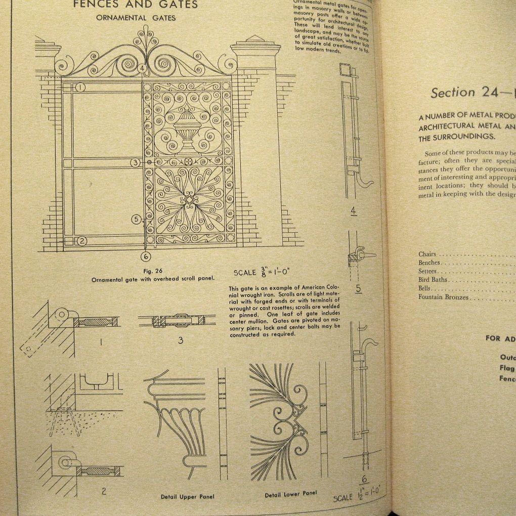 Architectural Metal Handbook, 1947 Book