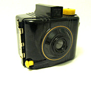 Bakelite Box Camera, Baby Brownie Special