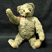 1910 Antique Mohair Jointed Teddy Bear