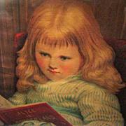 Victorian Framed Print, Alice in Wonderland