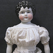 Doll Chemise of Woven Figured Shirting