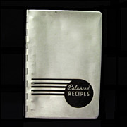 1933 Pillsbury Balanced Recipes Cookbook, Metal Cover