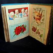 Mini Victorian Scrapbook, Lincoln's Inauguration, etc.