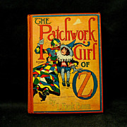 L. Frank Baum, Patchwork Girl of OZ, 1913, Reilley & Lee