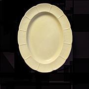 Vintage Glazed Queensware Wedgwood Platter,  OSIER