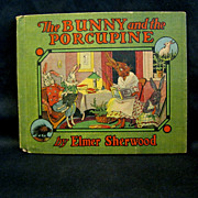 'Bunny and the Porcupine', by Elmer Sherwood, 1916