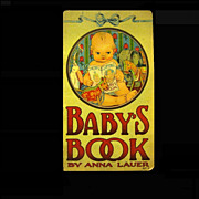 'Baby's Book' by Anna Lauer, 1916 Stecher Litho