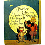 R.F. Outcault, Buster Brown Goes Shooting, Cupples & Leon, 1907