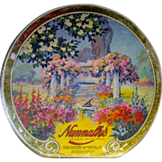 1920s Tindeco Candy Box Advertises 'Nunnally's Candy of the South'