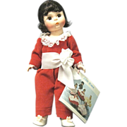 "Tagged Alexander ""Red Boy"" 8-inch Doll, 1984"