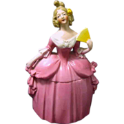 Large Mme. Pompadour Porcelain Dresser Doll, E & R Germany