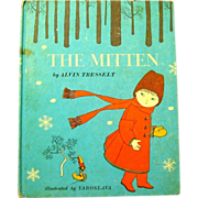 """Old Ukrainian Folk Tale, """"The Mitten"""" Alvin Tresselt, 1969"""