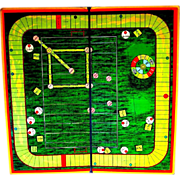 1920's Combination Board Game, Baseball, Football, Golf