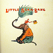 "1928 Sunny R Book, ""Little Slam Bang', Vanderveer, Fletcher Ransom, Illustrator"