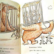 """1959 Children's Book, """"JULIUS"""", by Syd Hoff"""