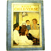 """Riley Child Verse"", Poems Illustrated by Ethel Franklin Betts, 1906"