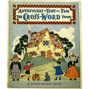 Adventures of Tiny and Tim, The Cross-word Twins, 1941 Puzzle Book