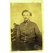 Civil War CDV of Soldier from New York, 1860s
