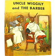 """Uncle Wiggily and The Barber"", 1939 Howard Garis Book"
