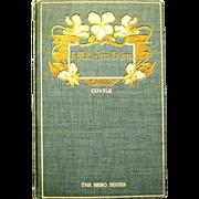 "Rare Edwardian book, ""Jean Valjean - A Hero"""