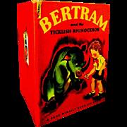"Scarce 1948 Book, ""Bertram and the Ticklish Rhinoceros"", Gilbert"
