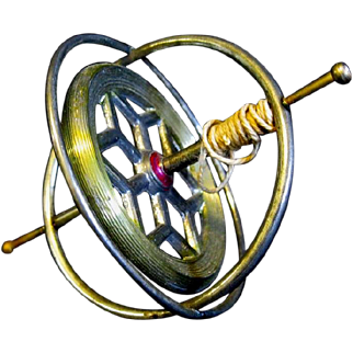 Toy Vintage Gyroscope