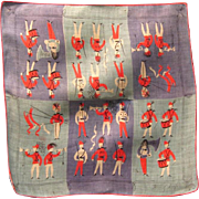 Designer Signed Tamis Keefe Handkerchief