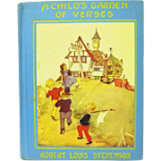 """A Child's Garden of Verses"", Robert L. Stevenson, Eulalie Illustrator, HC"