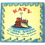 "1943 Weekly Reader Edition of ""KATY and the BIG SNOW"", Virginia Lee Burton"