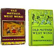 "Mother West Wind ""When"" Stories by Thornton Burgess, 1917"