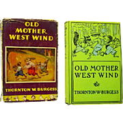 """Old Mother West Wind"", 1910, Thornton Burgess Book"